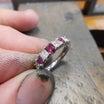指輪のサイズ直し①