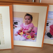 子どもとの写真、何度…
