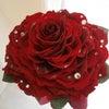 赤薔薇のメリアブーケを広島県の新婦様へおつくりしました。の画像