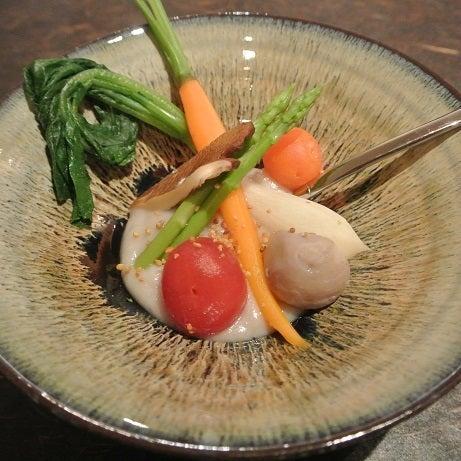 たまさか銀座 野菜畑 旬菜のムース