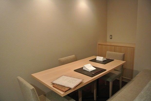 たまさか銀座 個室テーブル席