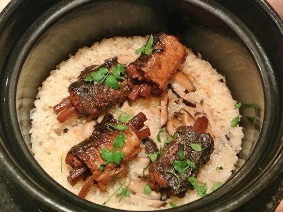 たまさか銀座 鰻印籠煮 釜炊きご飯