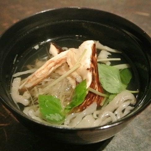 たまさか銀座 松茸の沢煮椀