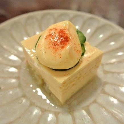 ざくろ銀座店 アスパラ豆腐