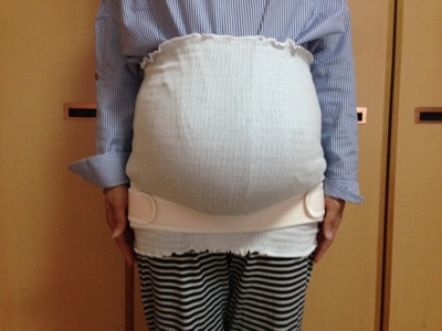 トコちゃんベルト 着け方 指導 切迫 販売  妊婦
