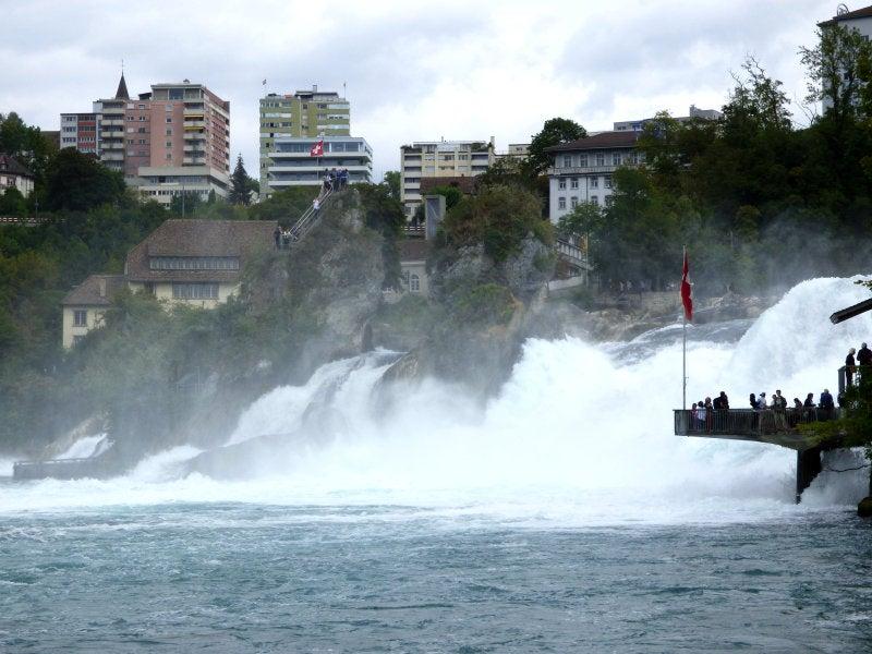 ボーデン湖(20)~Rheinfall~...
