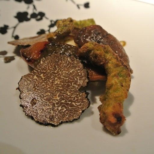 シェイノ 黒鮑とセップ茸のソテー2