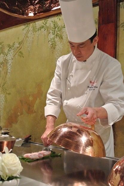 銀座うかい亭 九州真鯛と九条葱