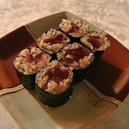 西麻布たかべ鮨 鉄火巻