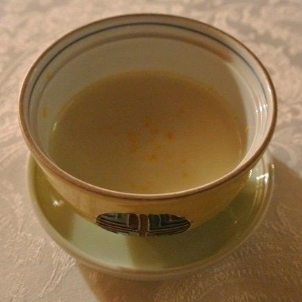西麻布たかべ鮨 鼈の茶碗蒸し