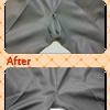 ズボンの股ズレの修理の画像