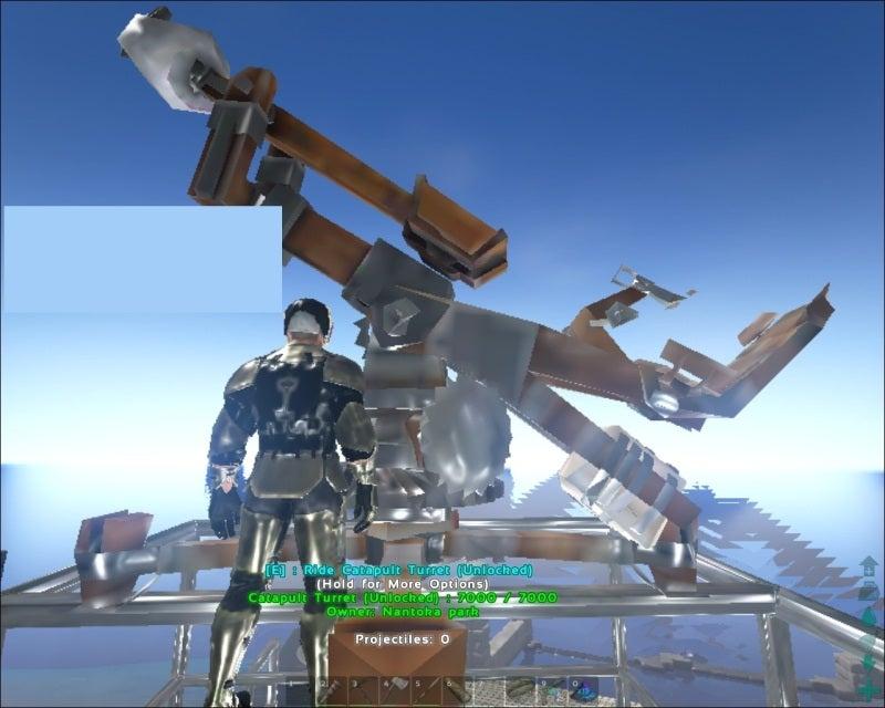 ARK Survival Evolved カタパル...