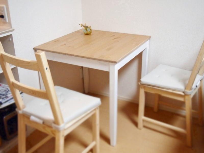 ふたり暮らし初心者のダイニングテーブル選びikeaのダイニングテーブル