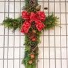 クリスマスのクロス(11月のレッスン)の画像