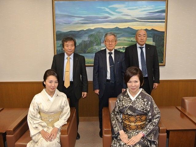 JAびえい事務所記念撮影 伊藤由美ママ&優香さん