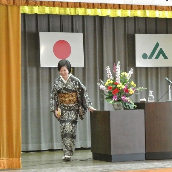 JAびえい記念講演 講師・伊藤由美ママ5