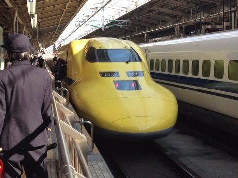 幸せを呼ぶ新幹線に会いました‼️の記事より