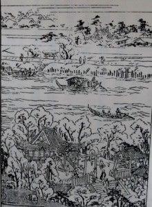 江戸の名所と美女 三囲 | メタボンのブログ