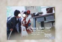 マイアルバムの年賀状1
