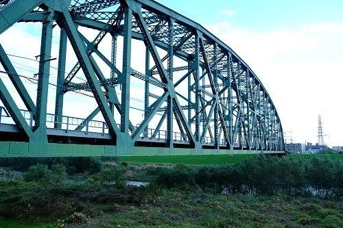 日本最大級トラス橋「近鉄澱川橋梁」