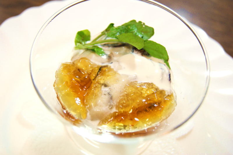 牡蠣のポシェ