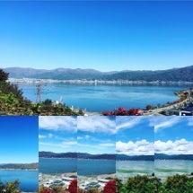 諏訪湖です。昨日、ス…