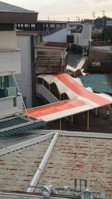 浜松市オートレース場メインスタンドテント更新工事・完了(完成写真)