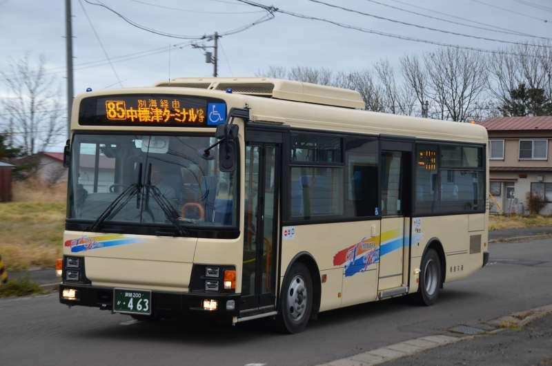 道東のバス・列車 イカ兄さんのブログ根室交通 釧路200か463 エルガミオ 2015年新車コメント