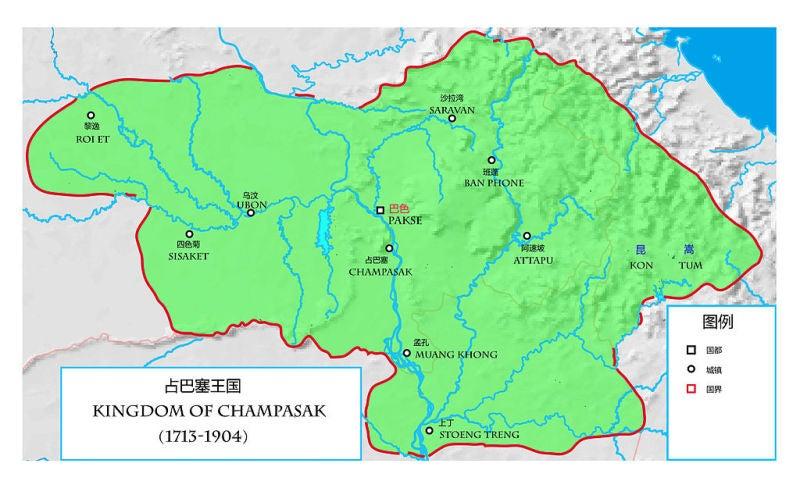 メコン最南のタイ族国家 チャン...