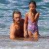 ガブリエル・オーブリー 娘のナーラとハワイで久々に再会!の画像