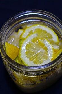 の 漬け レモン 砂糖
