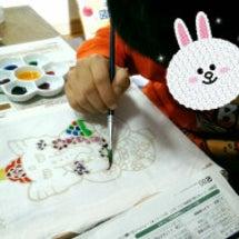 Batik色塗り体験…