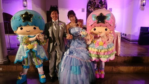 記事 キキララと結婚式♡ の記事内画像