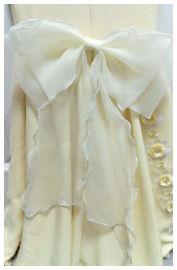 子供ドレスの可愛いリボンの作り方