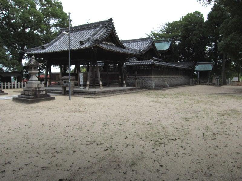 吹上城③八幡神社