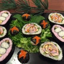 飾り寿司と伊達巻、お…