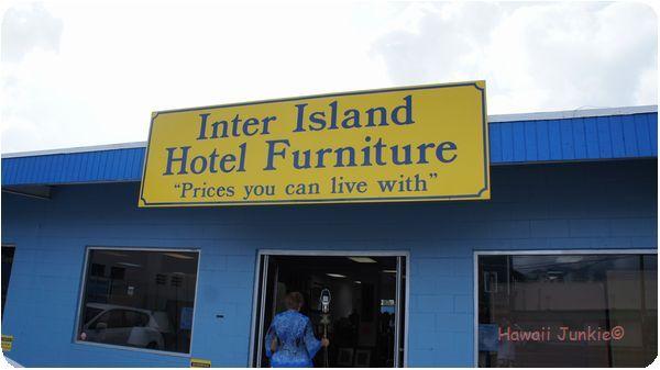 『 Inter Island Hotel Furniture 』