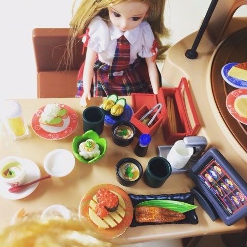 リカ ちゃん 回転 寿司