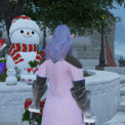 写真館 ヴァナのクリスマス FF11の記事に添付されている画像