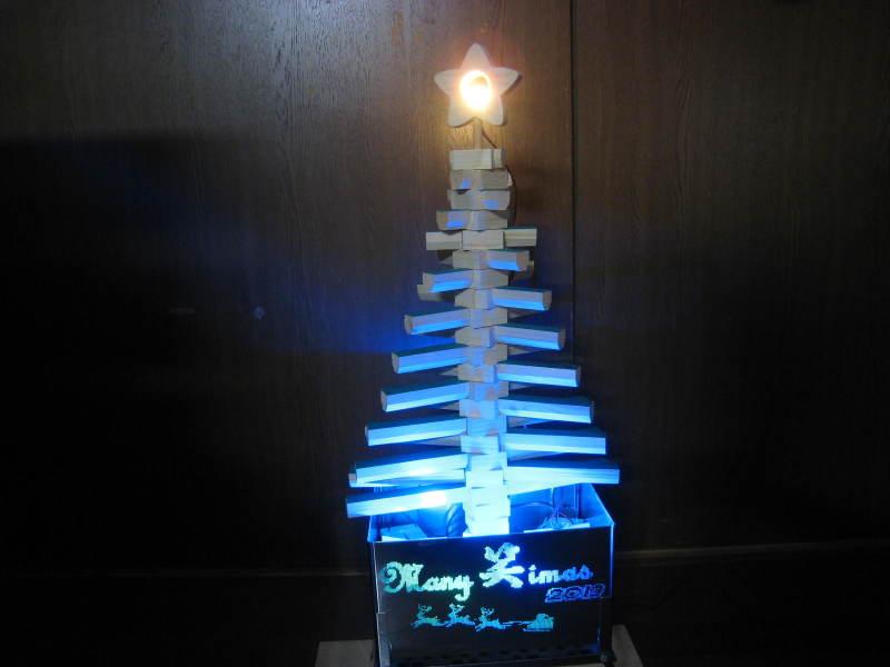 木製クリスマスツリー