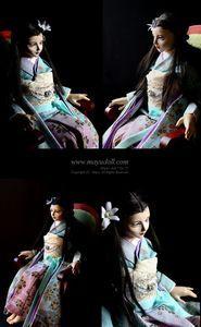 Mayu's doll-No.72「紫月(しづき)」