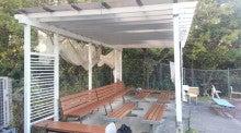 憩所・囲いカーテン(施工写真)