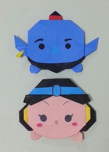 折り プリンセス 折り紙 ツムツム 方
