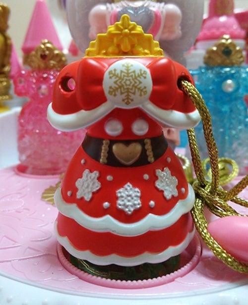 プリキュアのキャラデコクリスマスケーキの特典です♪。