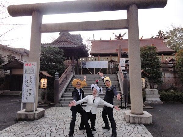 高崎で初詣 高崎神社からのホワ...
