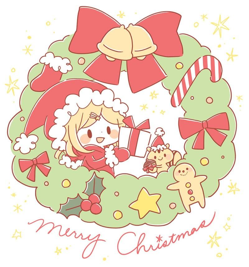 メリークリスマス! ということで、今年描いたクリスマスっぽいイラストを・・・・。 ツイッターにも載せてます。