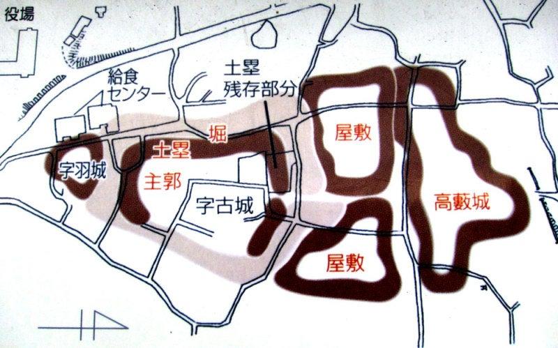 緒川城①図