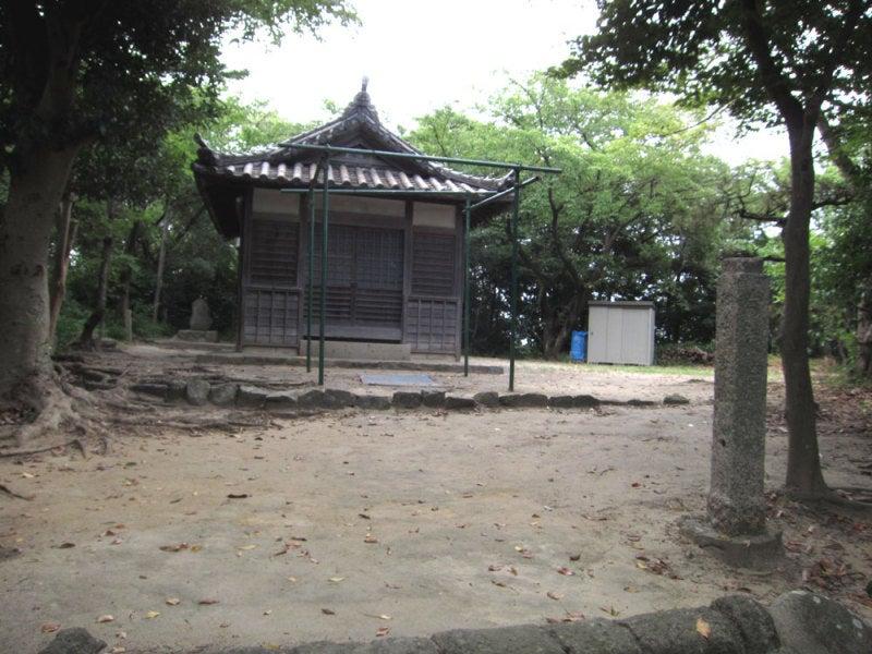 寺本城③津島神社