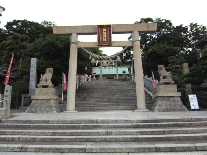 亀崎城①神前神社