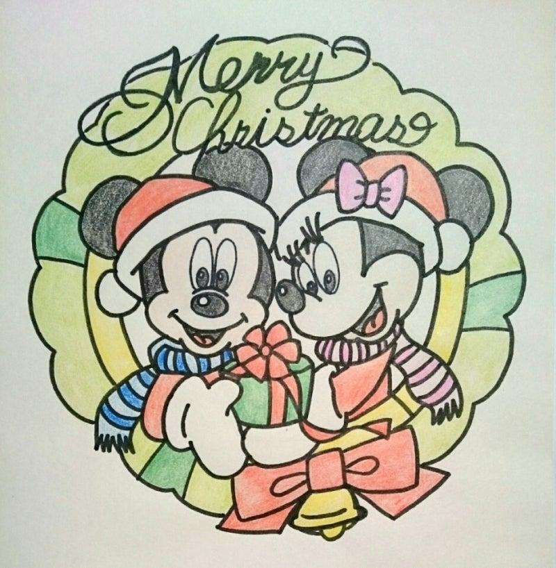 ミッキーとミニーのリース風クリスマスキャラケーキ キャラクターケーキに夢中 チョコとゼリーでかわいく手作り